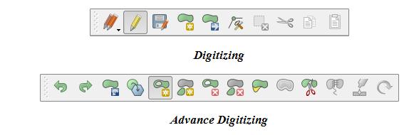 Digitizing và Advance Digitizing