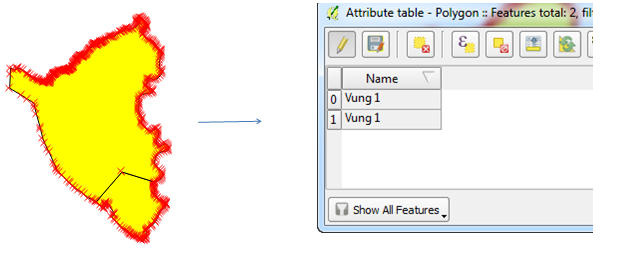 Gộp thuốc tính Merge feature attribute