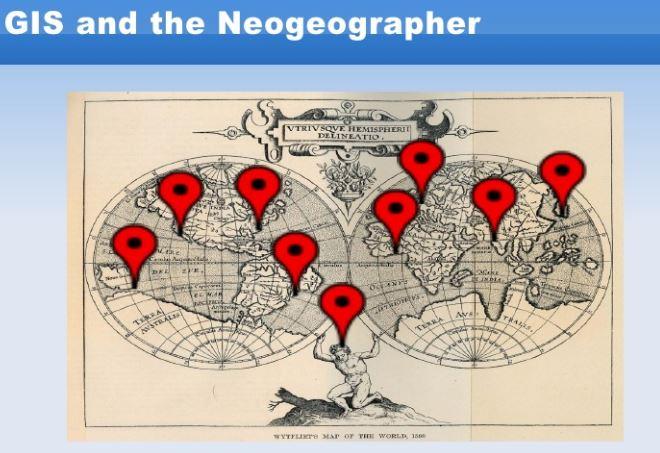 Sự khác biệt giữa GIS và Neogeography