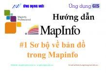 Sơ bộ bản đồ trong Mapinfo
