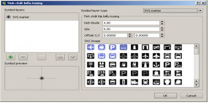 Lựa chọn kiểu hiển thị dạng hình ảnh có sẵn trên thư viện