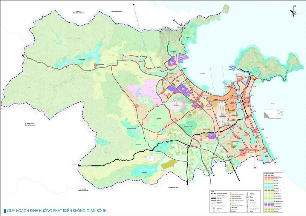 Bản đồ định hướng không gian đô thị Đà Nẵng
