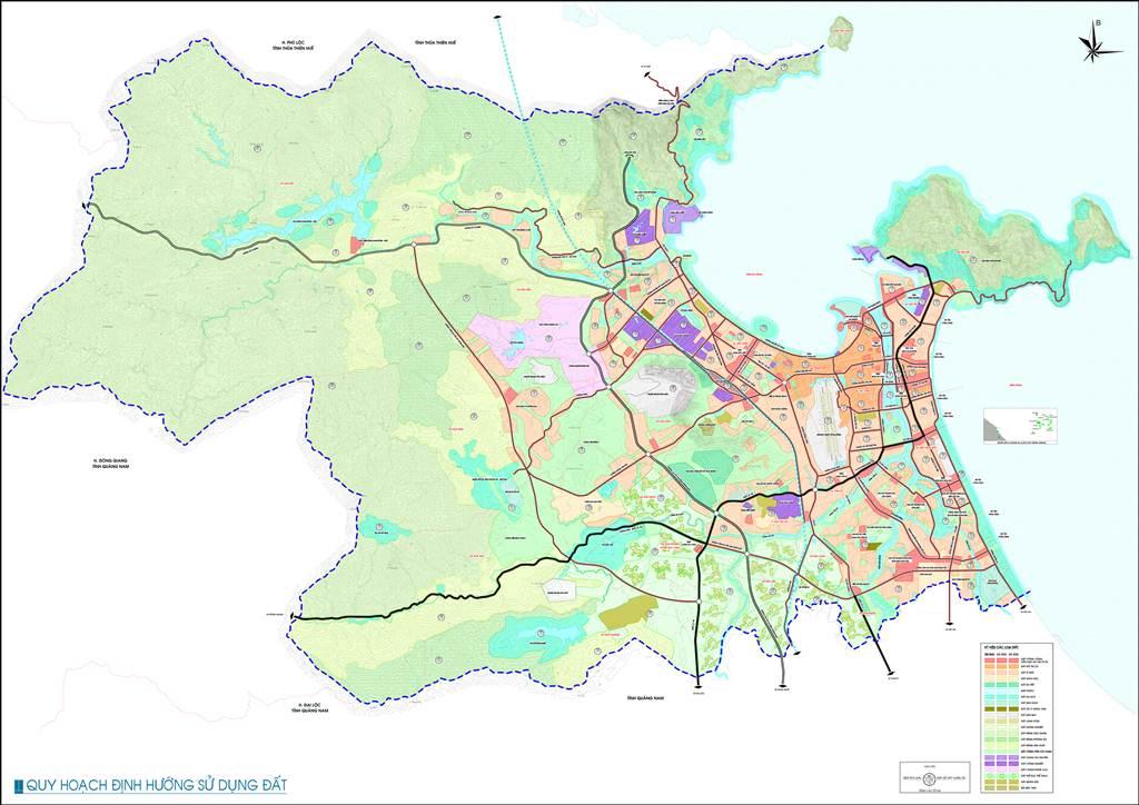 Bản đồ định hướng sử dụng đất Đà Nẵng
