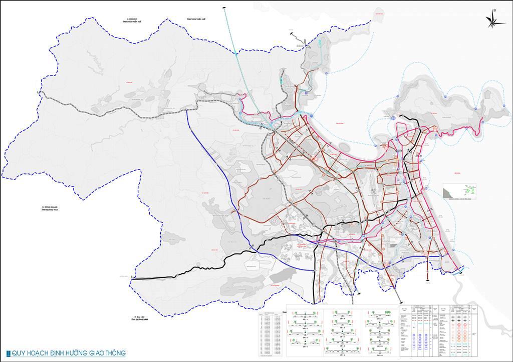 Bản đồ định hướng giao thông Đà Nẵng