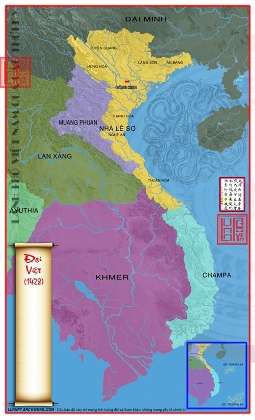 Nước Đại Việt dành lại quyền tử chủ năm 1428