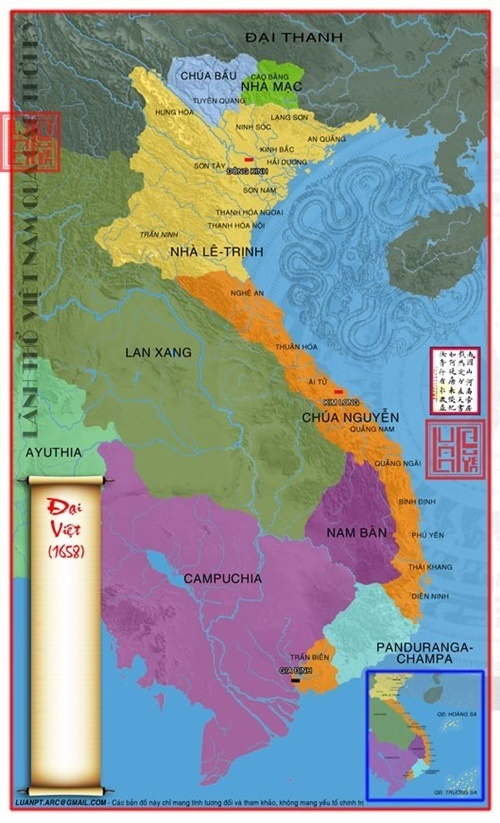 Năm 1658 người Việt đã xuất hiện ở vùng đất Đồng Nai ngày nay