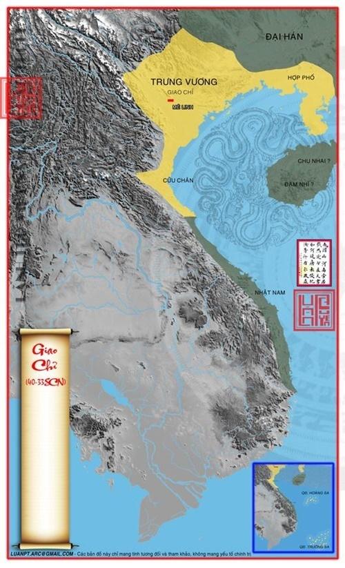 Lãnh thổ Giao Chỉ 40 TCN – 33 SCN