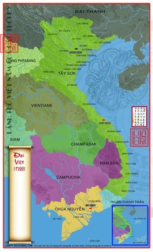 Lãnh thổ Việt Nam 1788