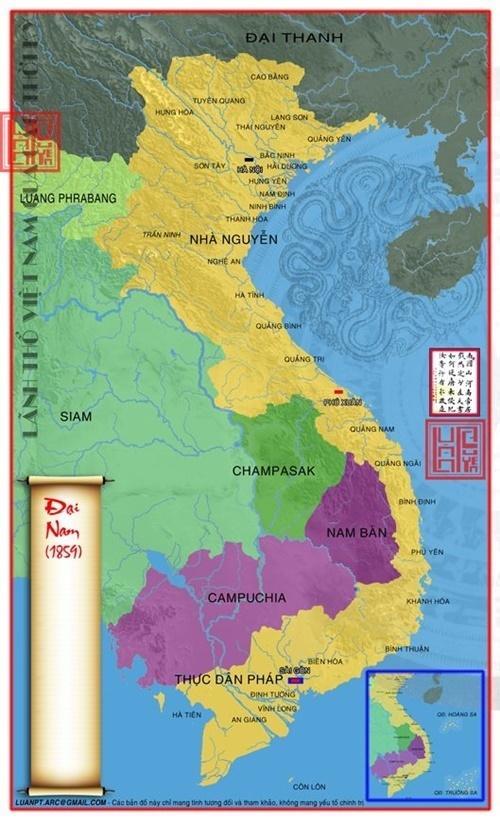 Lãnh thổ Việt Nam năm 1859
