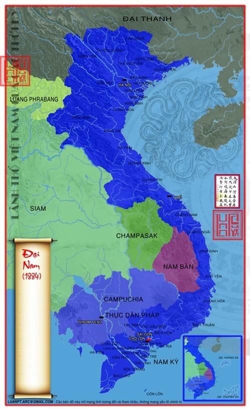 bản đồ lãnh thổ Việt Nam qua các thời kỳ 61