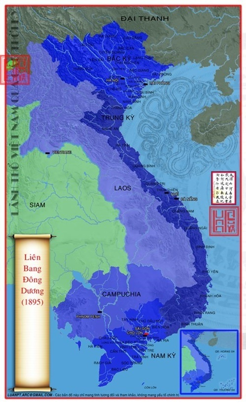 Lãnh thổ Việt Nam 1895