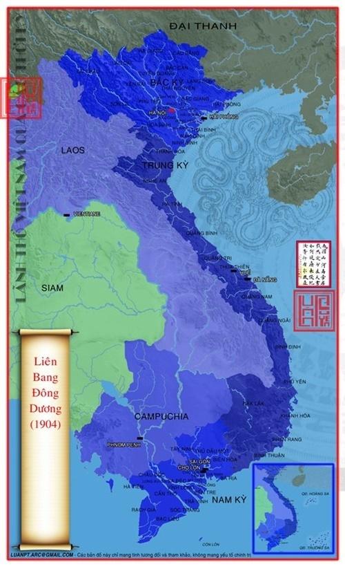 Năm 1904 Pháp sát nhập Đak Lac vào lãnh thổ Việt Nam