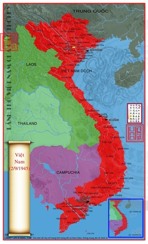 bản đồ lãnh thổ Việt Nam qua các thời kỳ 69