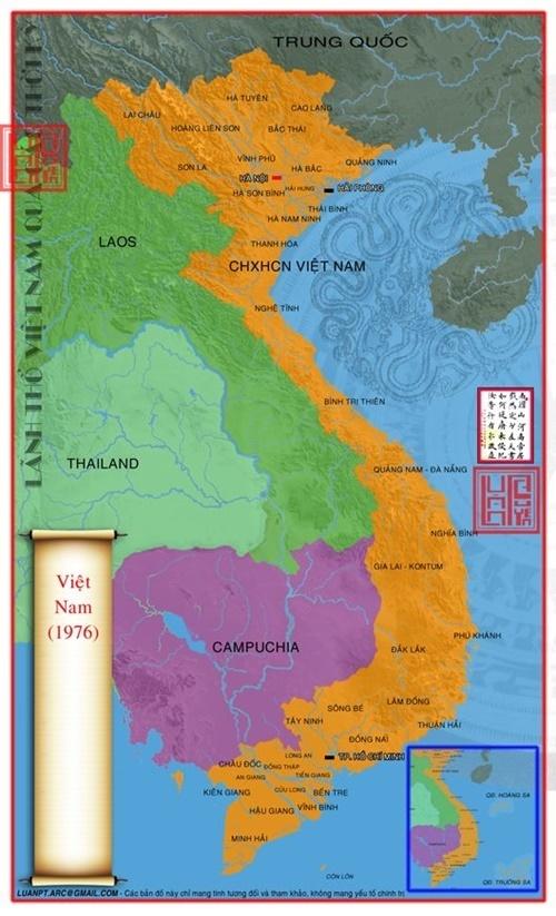 Lãnh thổ Việt Nam ngày nay