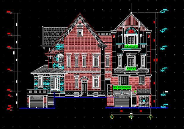Bản vẽ thiết kế nhà, biệt thự trước khi hoàng công (ảnh minh họa, nguồn internet)