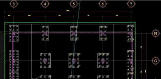 bố trí nhà xưởng bằng máy toàn đạc điện tử