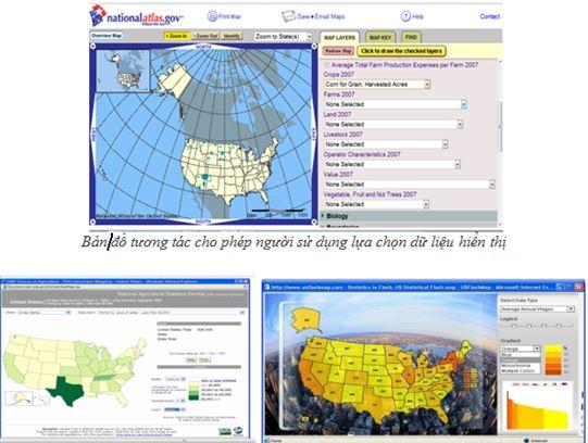 Bản đồ tương tác những thiết kế cần quan tâm