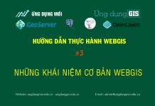Những khái niệm cơ bản về webgis