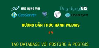 Tạo Database với PostgreSQL và PostGIS