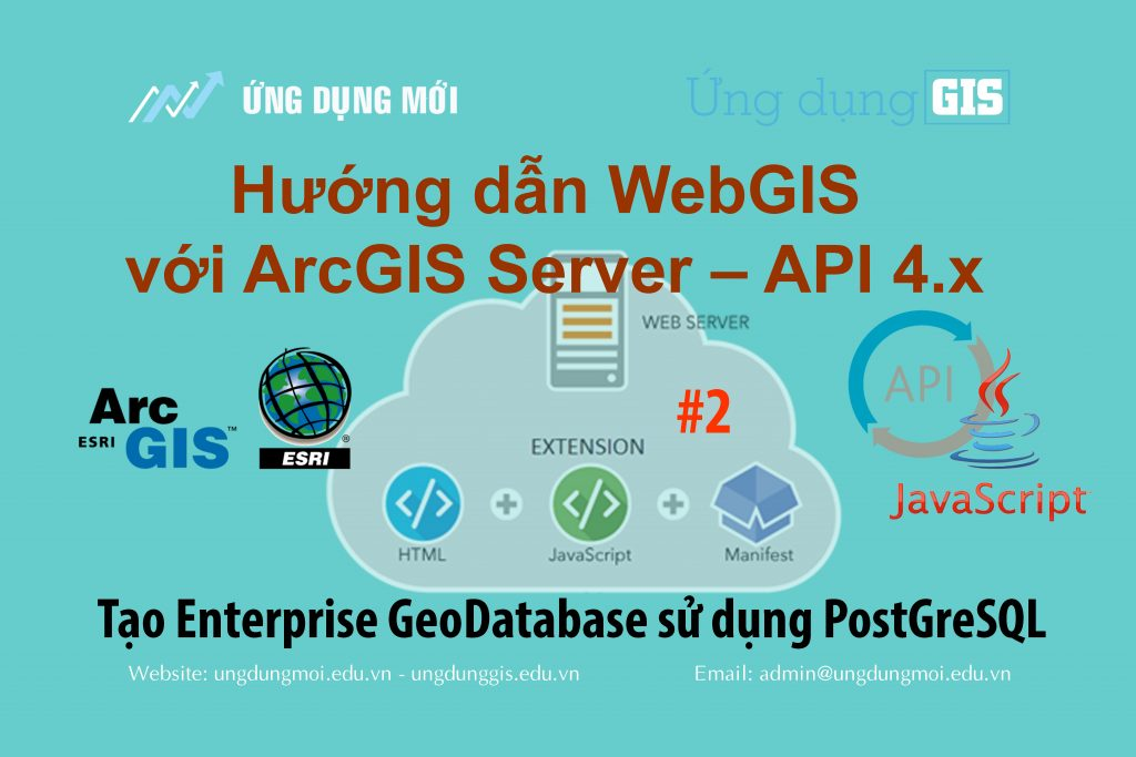 WebGIS với ArcGIS Server – API 4 x #2] - Tạo Enterprise