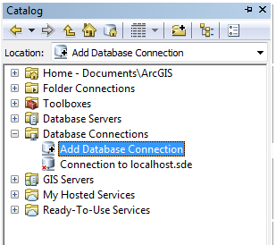add database connection