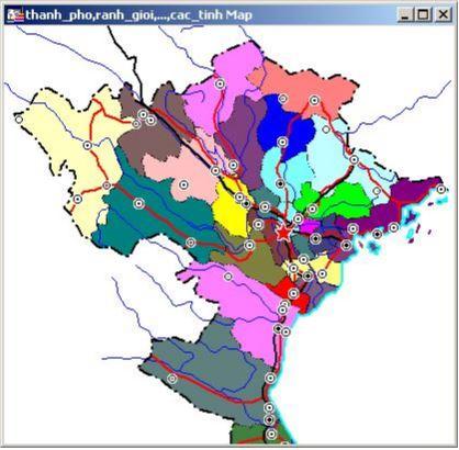 Bản đồ cac_tinh được tô màu