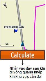 Đo diện tích đất bằng máy định vị GPS cầm tay