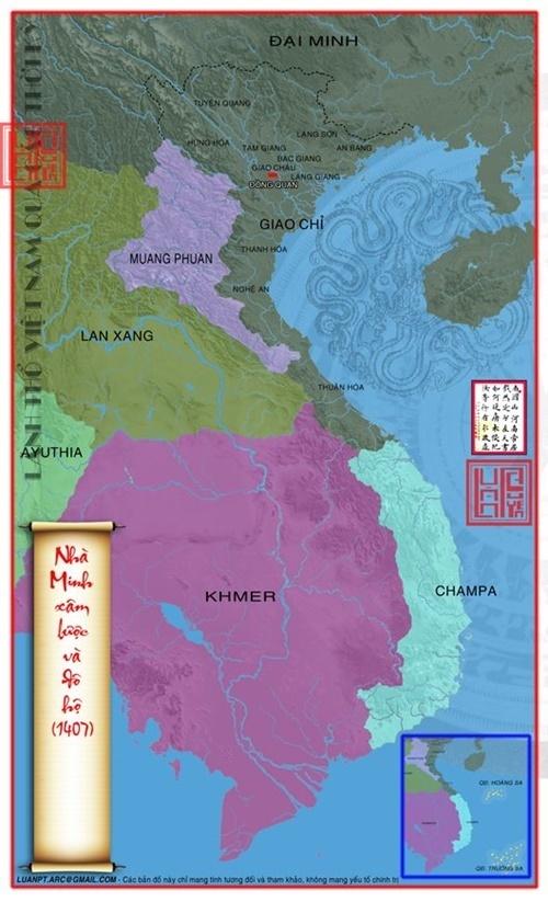 1407 nước Đại Ngu bị tiêu diệt và sát nhập vào lãnh thổ Đại Minh (Trung Quốc)