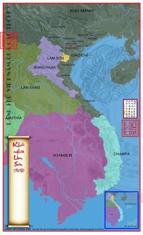 năm 1418 cuộc khởi nghĩa Lam Sơn dành lại được vùng lãnh thổ nay thuộc Huyện Thọ Xuân tỉnh Thanh Hóa