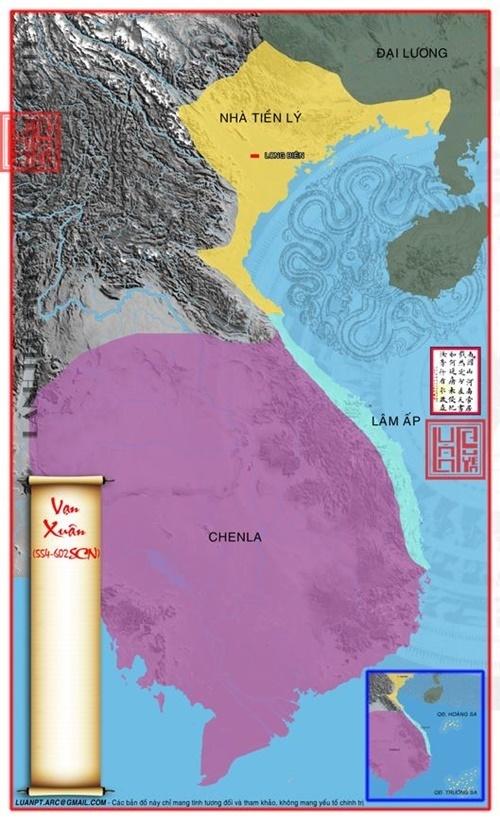 Nước Vạn Xuân 554 – 602