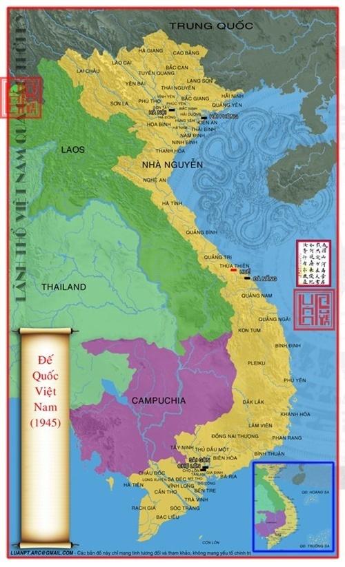bản đồ lãnh thổ Việt Nam qua các thời kỳ 68