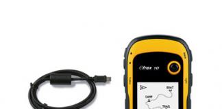 Máy định vị cầm tay GPS Etrex10 Garmin