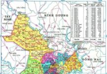 bản đồ hành chính tp hcm